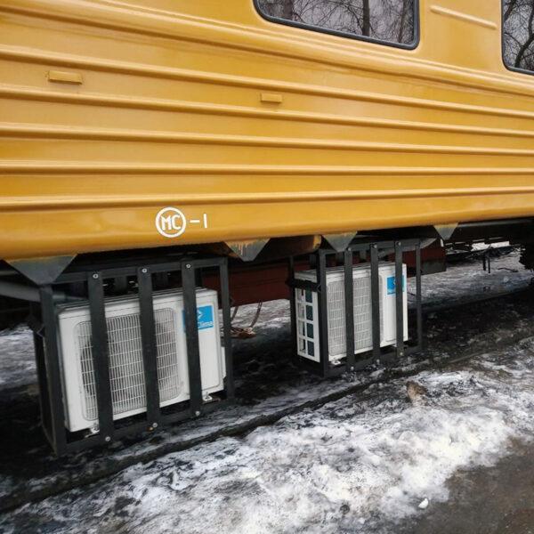 Плацкартный пассажирский вагон, тип ЦМО 1990 года, после КВР